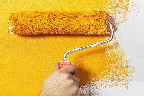 Painting decorating walls